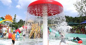 [서울에서 여름 나기] ② 물놀이장에서 더위 탈출